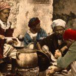 Street cook, Tunis, 1899